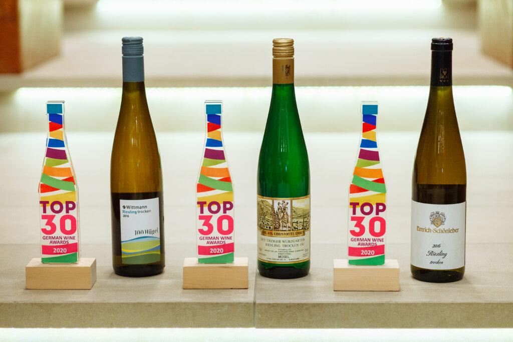 Вина Винтаж-М получили награды TOP 30 German Wine Awards
