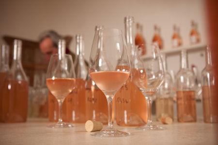 Производство розового вина